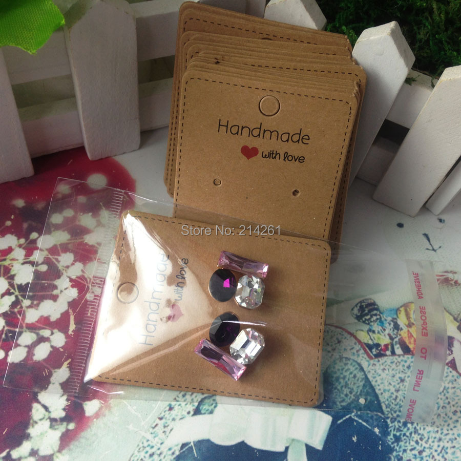 How To Make An Earring Card