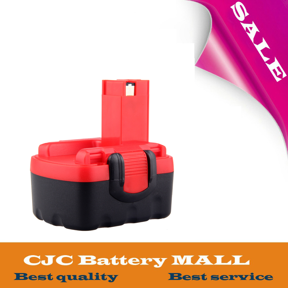Free Shipping <font><b>14.4V</b></font> Ni-CD Replacement Power Tool Battery for Bosch BAT038 BAT040 BAT041 BAT140 2 607 335 711 image