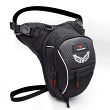 WOSAWE Motorcycle Drop Leg Bag 3layer Multifunction Travel Backpack Waterproof Fanny Pack Cell Phone Purse Storage