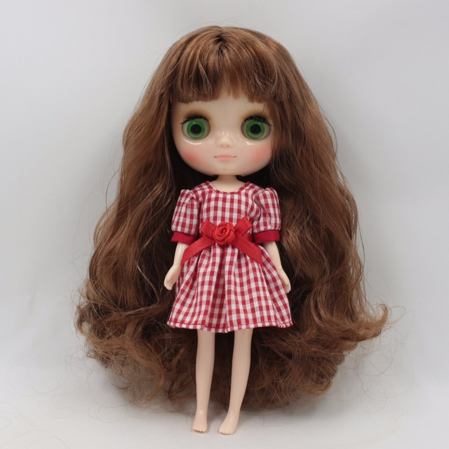 Middie Blythe Doll Elegant Colorful Dress