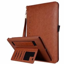New Premium PU Leather Case for iPad Air 1 2 Stand Case with Hand Strap for iPad Pro 9.7  9.7