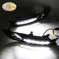 With Yellow Turning Function Car Accessories High Power LED Daytime Running Light LED DRL For Nissan