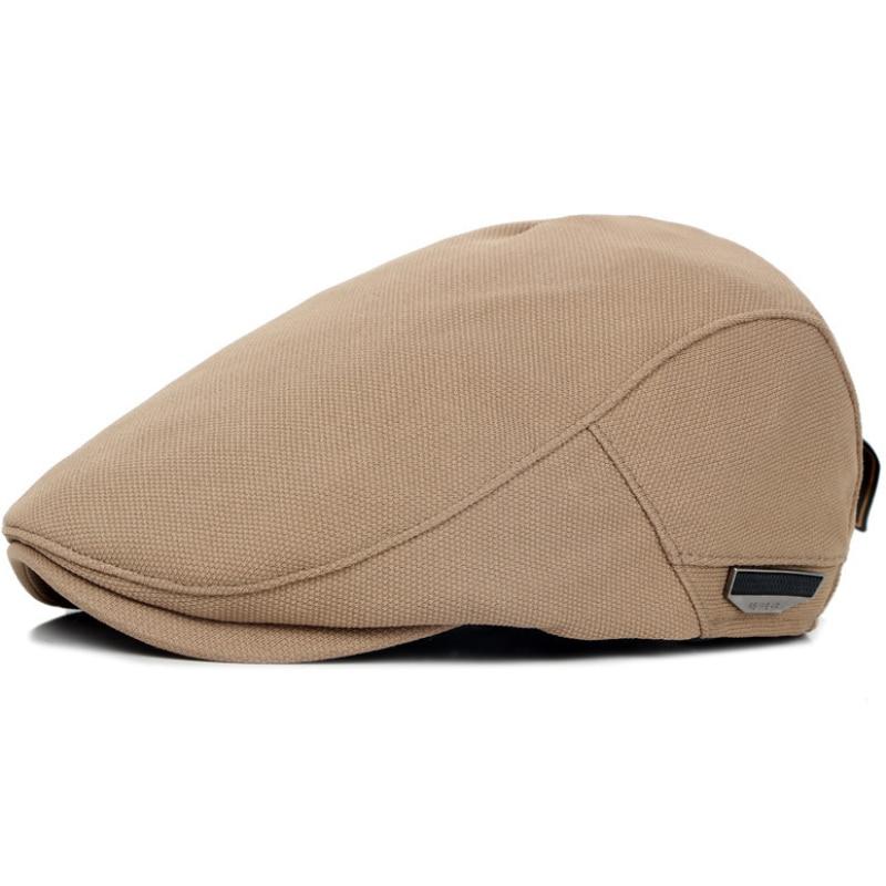 HT759 Spomladi jesenski unisex bršljan kape enobarven navaden voznik Gastby Cap priložnostne ravne ženske moški beretke