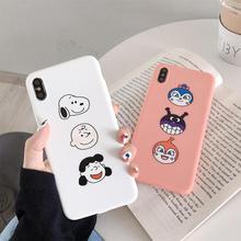 Case for iphone X XR XS MAX Cute cartoon dog Anpanman Baikinman silicon soft case 6 6S 7 8Plus cover capa
