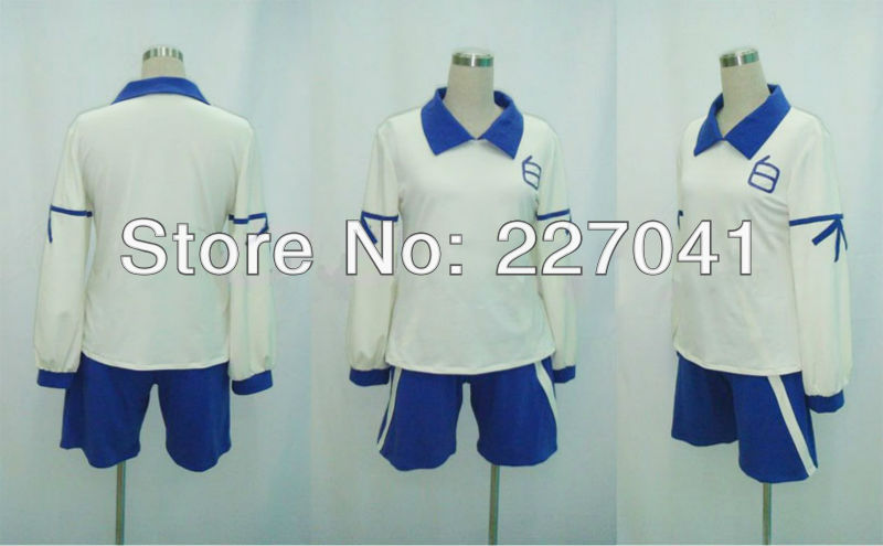 New Inazuma Eleven GO Academy Soccer Team Club Short Uniform