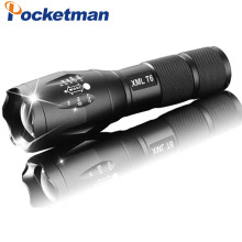 E17 LED Flashlight zoom torch waterproof flashlight