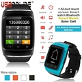 Bluetooth sports watch 1.54 inch touch screen Smart watch Bluetooth Sync Call for Android Pedometer Anti-lost men sports watches