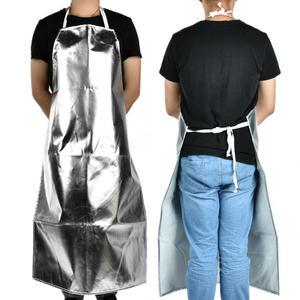 Image 5 - 1000 °C Heat Resistant Aluminum Foil Apron High Temperature Working Apron