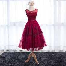 Exqusite curta Lindo Laço Apliques Beads 8ª série Graduação Regresso A Casa Vestidos Baratos Para O Baile Do Partido Meninas Vestido(China (Mainland))