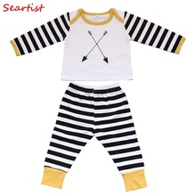 COSPOT Infant Cotton Clothing Set 2017 New Newborns Clothes 3 Pcs Suit T Shirt+Pants+Cap Baby Boys Girls Children Clothes 30C costumes for newborns baby boys infant pullover clothes for babies loungewear layette sets t shirts pants for girls clothing set