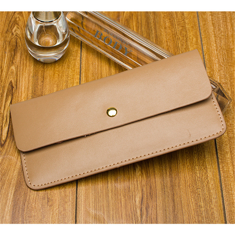 0e60b474888ad ... Women Wallet Genuine Leather Purse Ladies Slim Small Mini Money Bag  Women Portomonee Luxury Design Long ...