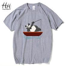 d943ad7a6 HanHent summer cotton t shirt men funny panda print t-shirt stranger things  3d tshirt men tops 2018 fashion hip hop t shirt