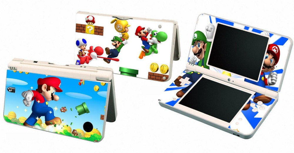 235 Vinyl Skin Sticker Protector For Nintendo DSI XL LL For NDSI XL LL Skins Stickers