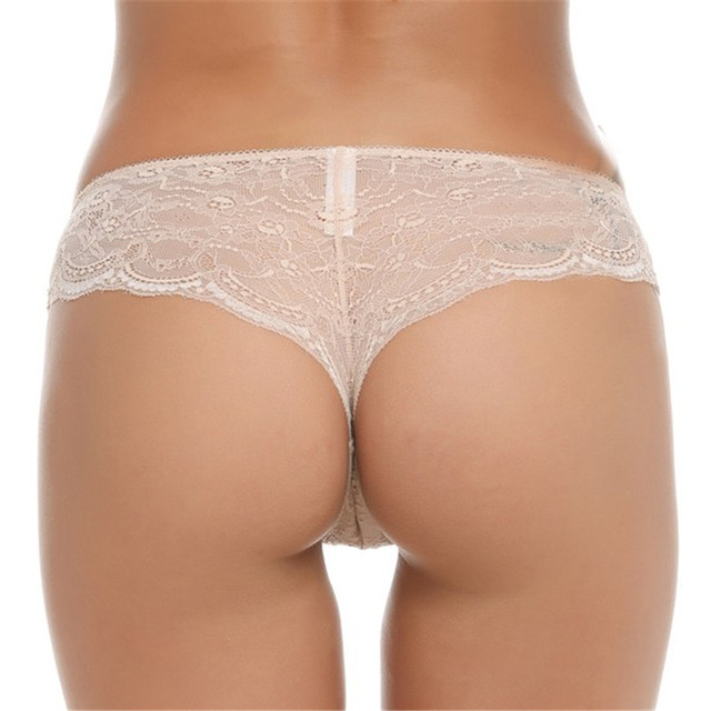 2016 Women Low Rise Sexy Lace Hipster Panty Underwear 3 Pack lingeries mujer wholesale
