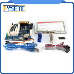 Image 2 - Усовершенствованная 32 битная Электроника Clone Duet 2 Maestro с 7 дюймовыми 7 дюймовыми встроенными цветными сенсорными контроллерами PanelDue 7i