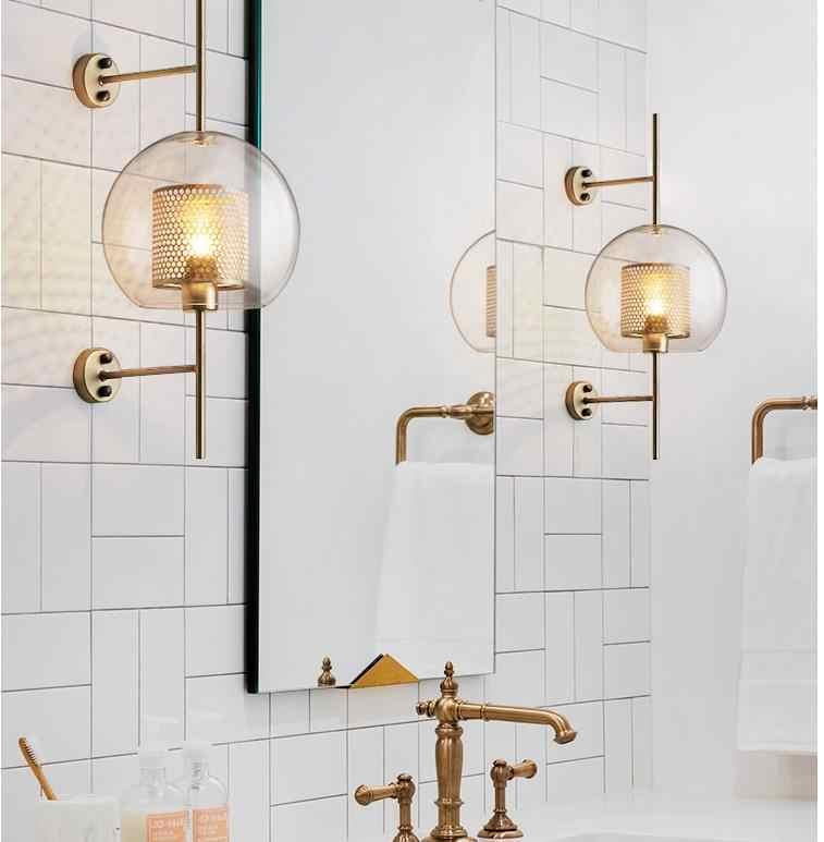 Скандинавские настенные светильники прикроватные для спальни балкон бра крепеж