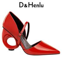 Shoes 2018 New Pearl Women High Heel Shoes Vintage Thick Heel Pointed Toe Pumps Comfortable Mid Heel 5cm Shoes Woman