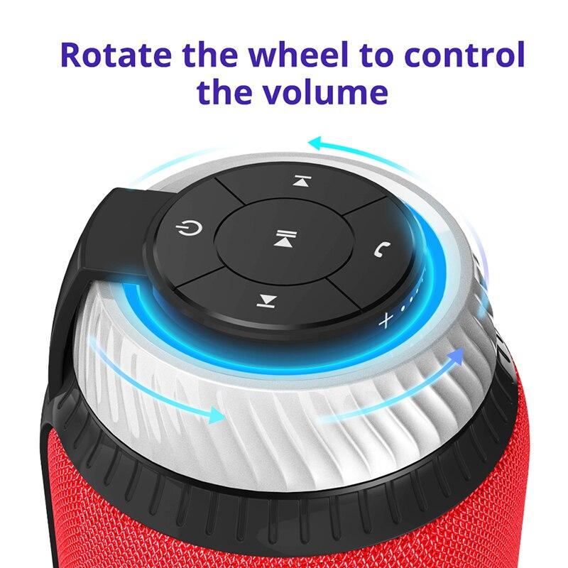Tronsmart Élément T6 Bluetooth Haut-Parleur Portable Soundbar Bluetooth 4.1 Récepteur Audio Sans Fil Mini Haut-Parleur pour La Musique MP3 Lecteur - 4