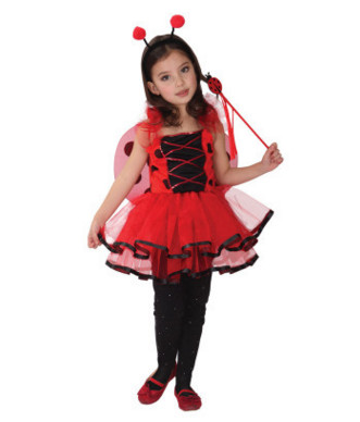 Image 2 - Children's costumes for Halloween Children's costumes Little bee costumes Butterfly cartoon baby dance clothes-in Girls Costumes from Novelty & Special Use