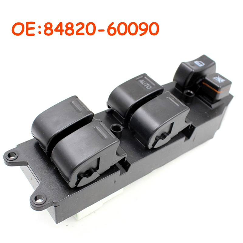 84820-60090 8482060090 For <font><b>Toyota</b></font> Echo Yaris T.U.V <font><b>4Runner</b></font> Hilux Land Cruiser Camry Power Window Lifter Master Control Switch image