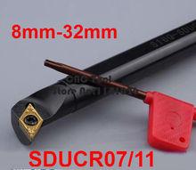 1PCS 8mm 10mm 12mm 14mm 16mm 20mm 25mm 32mm SDUCR07 SDUCR11 SDUCL07 SDUCL11 die Rechts/Links Hand CNC Drehmaschine werkzeuge