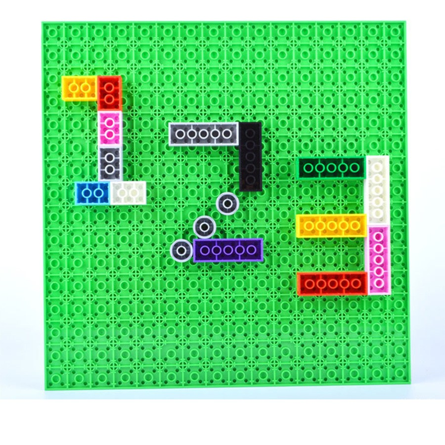 10 quot 10 quot 32 32 Dots Double Side Base Plate for Small Size Bricks DIY Building Blocks Baseplates Compatible with LegoED Blocks in Blocks from Toys amp Hobbies