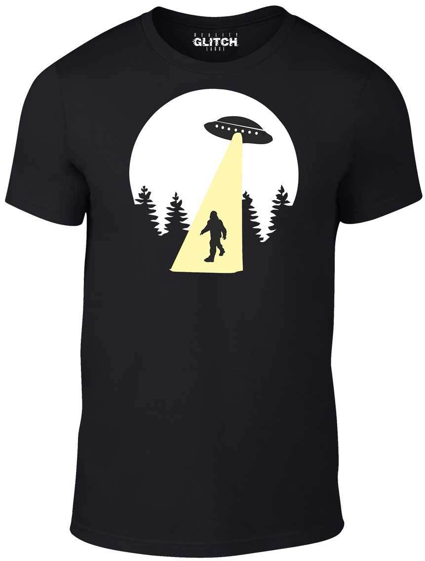 Beam Up T-Shirt - Funny T Shirt UFO Aliens retro cool space bigfoot USNew Shirts Tops Tee New Unisex High