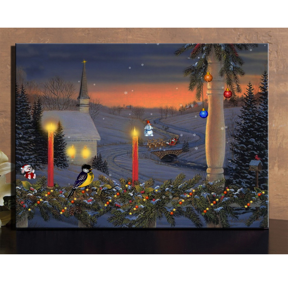 Compare Prices on Christmas Church Pictures- Online Shopping/Buy Low Price Christmas Church ...