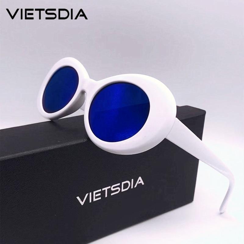 2019 Neue Klassische Clout Goggle Kurt Cobain Gläser Oval Damen Sonnenbrille Vintage Retro Sonnenbrille Frauen Uv400 Gafas De Sol Geschickte Herstellung