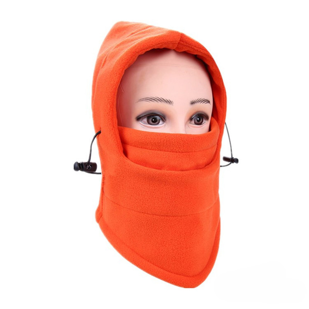 Новинка, 6 в 1, уличные Лыжные маски, велосипедные лыжные шапочки, зимние шапки с защитой от ветра# NE920 - Цвет: L