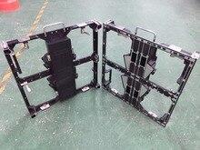 P3.91 i P4.81 odlewany pod ciśnieniem aluminium obudowy puste, 500x500mm panel, 250x250mm moduł, P3.91 ściana wideo led