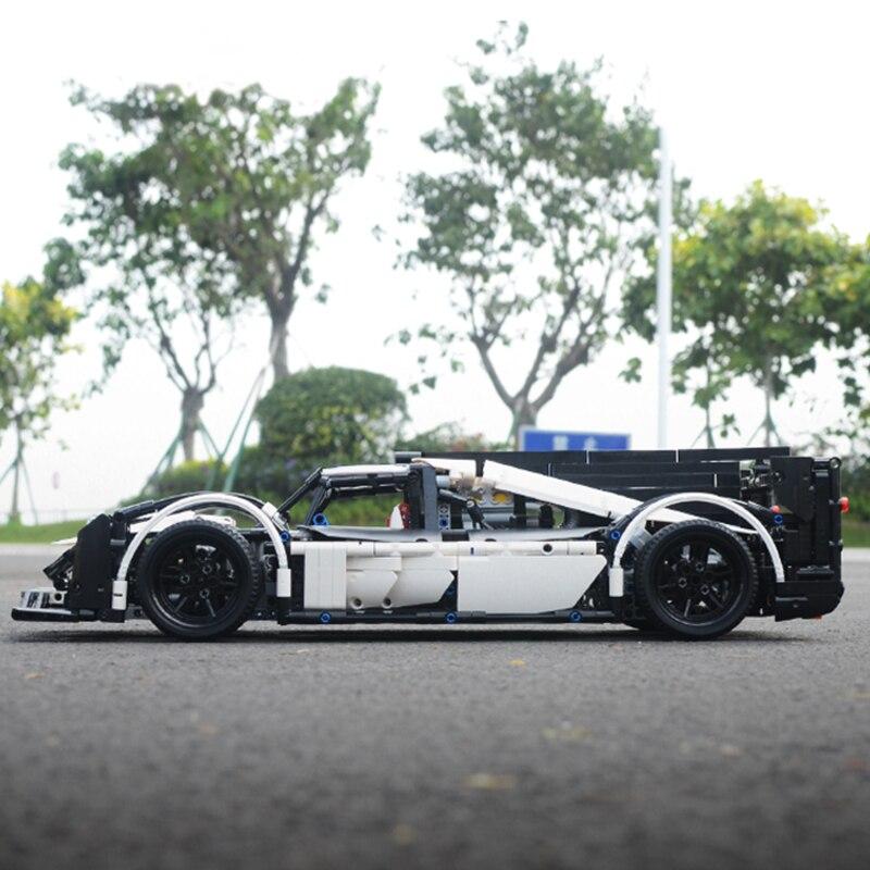 2018 Série Technique Nouveau Lepin 23018 Moc 5530 Hybride Super voiture de course jouets éducatifs blocs de construction Briques bricolage Pour Enfants - 4