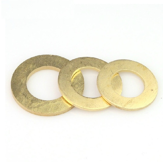 M2.5 2.5mm Brass Flat Washer, Seal washer, Brass washers, Copper ...