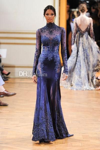 2014-zuhair-murad-high-neck-lace-formal-evening (2)_conew1