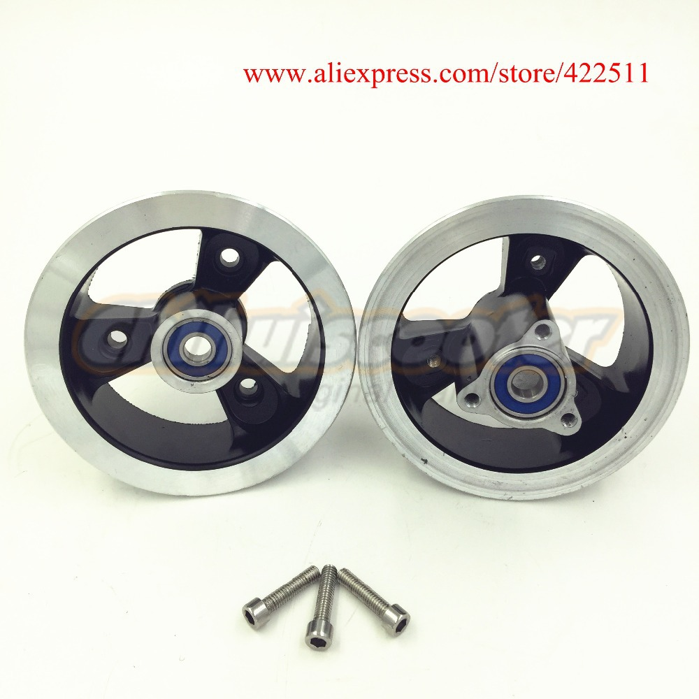 Prix pour New Aluminium 10 polegada avant Scooter jante / en Aluminium avant de moyeu de roue 10 polegada pour Scooter Tire ( Scooter roues jante / Hubs )