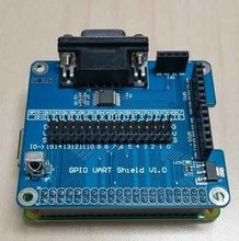 5pcs/lot GPIO Serial Port Expansion Board GPIO UART Shield For Raspberry Pi 2B/B+