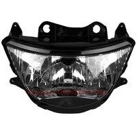 Прозрачные линзы мотоцикл Пластик передний свет лампы для Kawasaki Ninja ZX9R ZX900 1998 1999 Корпус фар комплект