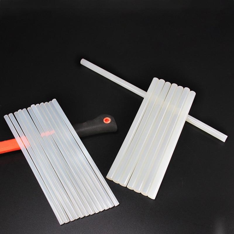 2pcsset Non-Toxic Transparent Glue Sticks 11mm X200mm For DIY Decoration School Office Supply