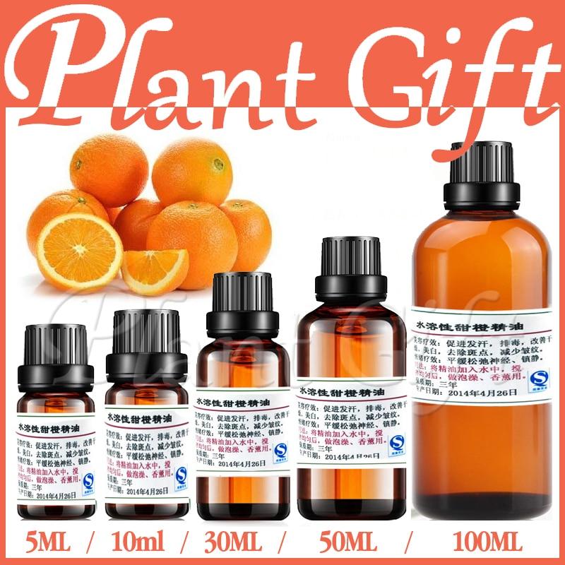 hidratează pielea strălucind dulcea portocală Apă solubilă din ulei esențial de apă solubilă ajută la înmuierea gastro-intestinale a pielii facială