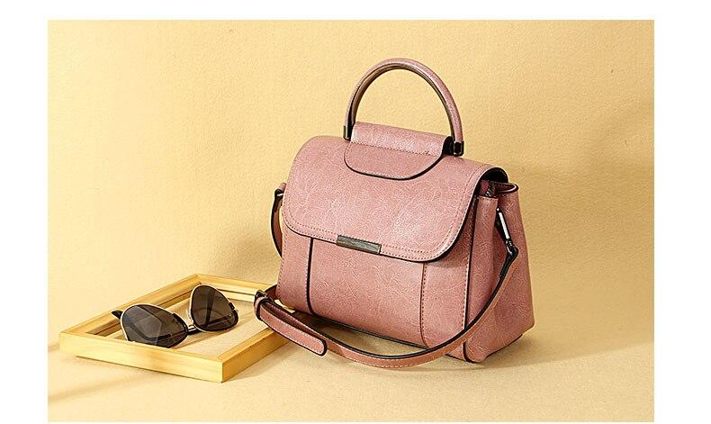 Miju Damenhandtasche dreiteilig Damen PU Handtasche Set