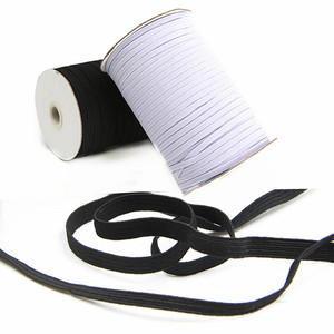 Hot sell 3-20mm *5m sewing elastic band white black high elastic Stretch rope for underware paja mas ties trim 5BB5630