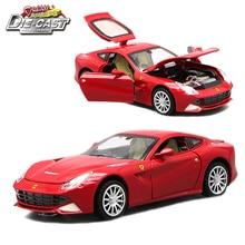 מודלים בקנה מידה צעצועי Diecast מכוניות ספורט, רכב אוסף לבנים עם צבעים שונים