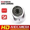 HD 2MP 1080 P AHD Câmera de segurança Analógica 720 P Indoor camera IR 20 m 3.6mm lente Filtro IR-Cut Dome CCTV AHD 1.0MP Câmera Trabalho Para AHD DVR
