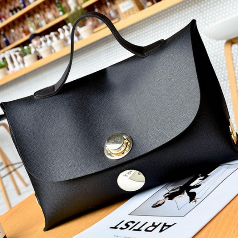 ABDB Fashion Women Handbag Wind Soft Pure Color Handbags Messenger Bags Shoulder Bag