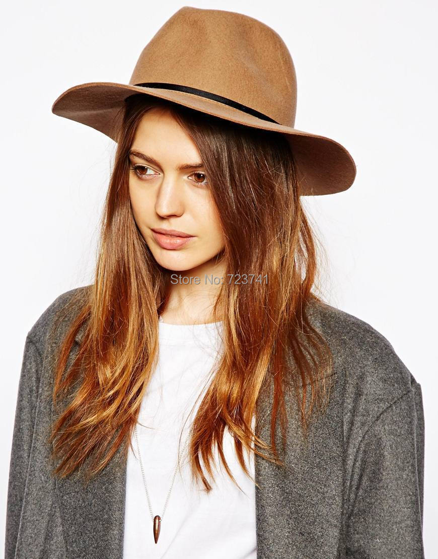 37aba8e164 Boohoo Lola Ribbon Band Fedora Hat In kahaki size 56CM 58CM for women-in Women's  Sun Hats from Apparel Accessories on Aliexpress.com | Alibaba Group