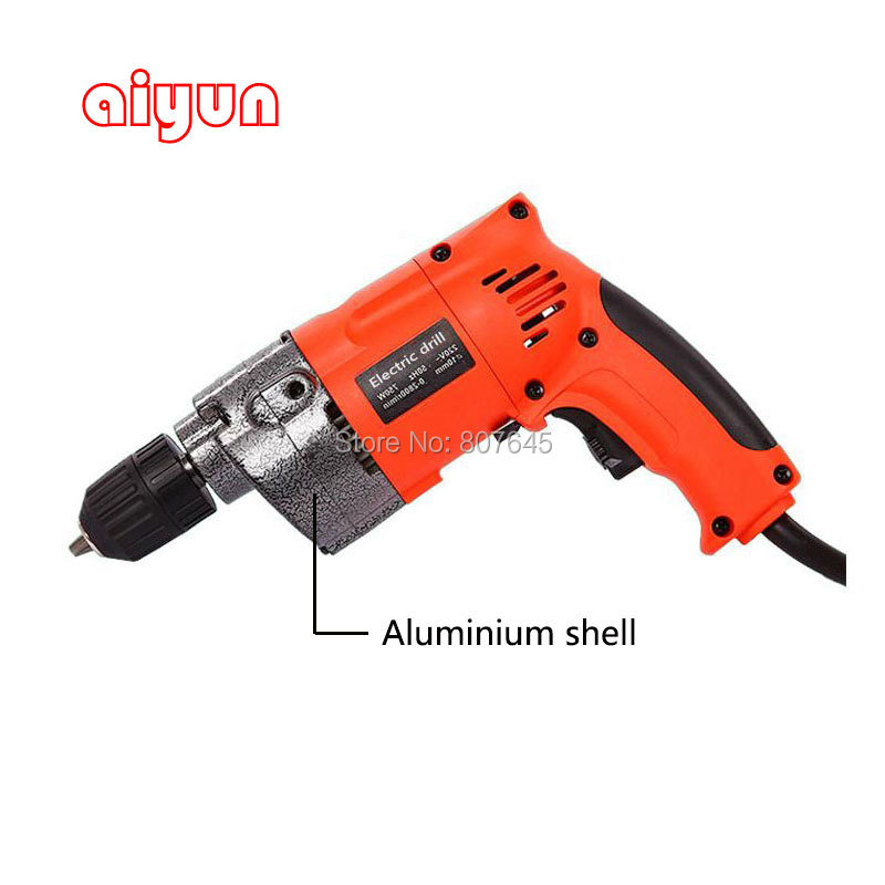 880W Electric impact drill / Power Drill / Electric Drill screwdriver hand tools dongcheng 220v 1010w electric impact drill darbeli matkap power drill stirring drilling 360 degree rotation power tools