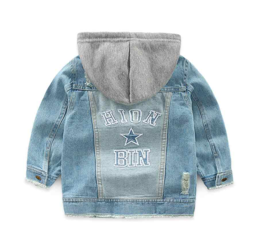 Джинсовая куртка для маленьких мальчиков, 2019 весенние куртки для мальчиков, пальто, детская верхняя одежда, пальто для мальчиков, одежда, детская куртка для 2, 3, 4, 5, 6, 7 лет