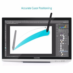 Image 3 - Huion GT220 Digital Tablet Monitor 21.5 IPS Monitor Newly Designed Touch Screen Pen for Wins Free Protector Glove Adapter Gifts