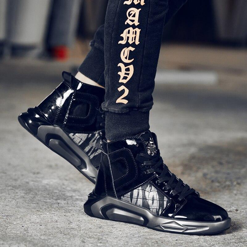 Sport High Chaussures Homme Rue Confortable Doux Gz Martin Top Bottes De Noir Danse Hip Sneakers 2018 or Hop Hommes Mode 1qF1Sg