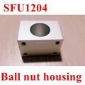 SFU1204 Ballscrew Nut Housing Aluminium Mounting Bracket For CNC Ballscrew Ballnut 22 or 24mm